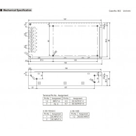 Converter 100W 12V 8.5A 19-36V SD100B-12 MEAN WELL