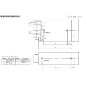 Converter 15W 12V 1.25A 36-72V SD15C-12 MEAN WELL