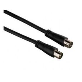 Καλώδιο TV PAL M/F 3.0m Μαύρο AV101-01N BAG LNC
