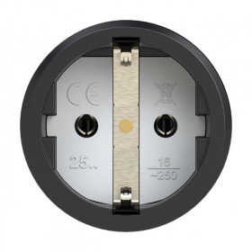 Adaptor ΣΕ 2 Σούκο 2P 16A 25212-r IP44 PCE