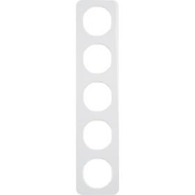 Πλαίσιο 5 Θέσεων Λευκό R.1 BERKER