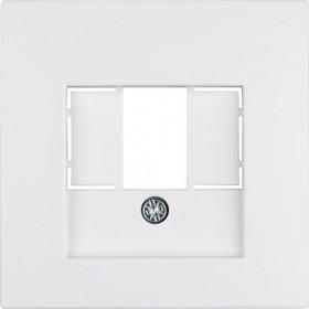 Μετώπη Πρίζας Ηχείων Ή USB Λευκό Ματ S.1/B.x BERKER