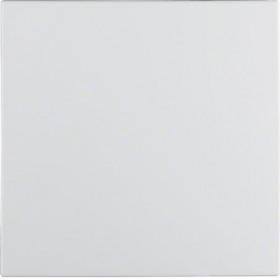 Μετώπη 1 Πλήκτρου Λευκό Ματ S.1/B.x BERKER