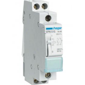 Ρελέ Καστάνιας 2P 1NO+1NC 230VAC/110VDC HAGER