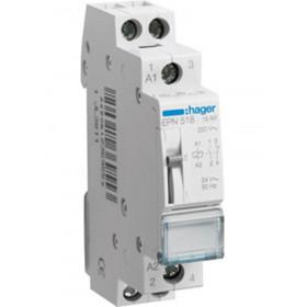 Ρελέ Καστάνιας 2P 1NO+1NC 24VAC/12VDC HAGER