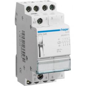 Ρελέ Καστάνιας 4P 3NO+1NC 230VAC/110VDC HAGER