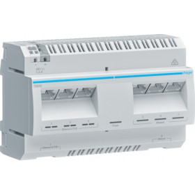 Ethernet Switch Ράγας 8P 10/100/1000Mbps PoE TN530