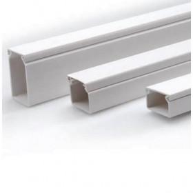 Κανάλι Διανομής Αυτοκόλλητο 16x16mm Λευκό ΚΑΣΣΙΝΑΚΗΣ