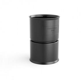 Μούφα Σύνδεσης Με Άγκιστρα Φ110 GeonFlex/GeoSub Μαύρη ΚΟΥΒΙΔΗΣ