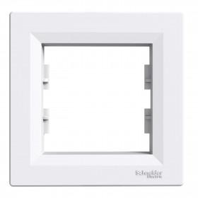 Πλαίσιο 1 Θέσης Λευκό Asfora