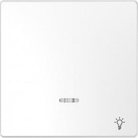 Μετώπη 1 Πλήκτρου Σύμβολο Κουδούνι Λευκό D-Life