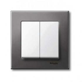 Μετώπη 2 Πλήκτρων Λευκό System-M