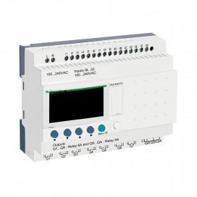Επεκτάσιμος Ελεγκτής 26 I/O ZELIO 100-240VAC SCHNEIDER
