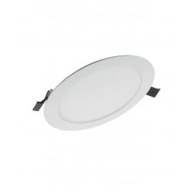 Πάνελ LED Χωνευτό 17W 4000K Στρογγυλό D192mm Λευκό SLIM OSRAM