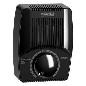 Dimmer Επίτοιχο 2500W Μαύρο DM-2500 MASTER