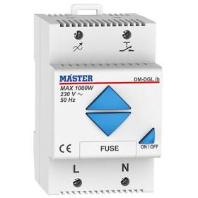 Dimmer Ράγας 1000W ALL LOADS/LED DM-DGL/B ΜΑSTER ELECTRIC