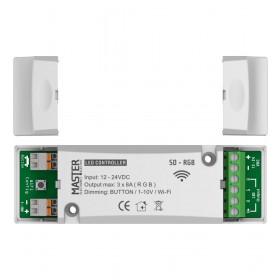 Ελεγκτής LED 12-24VDC 3X8A RGB Wi-Fi