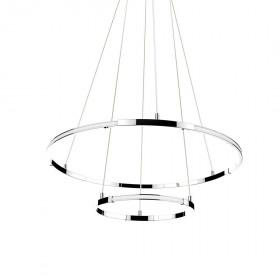 Φωτιστικό LED 85W 3000k Χρώμιο Aria 17222003 NOVA LUCE