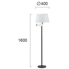 Φωτιστικό Δαπέδου E27 Μαύρο Και Λευκό Zoe 4150000 VIOKEF