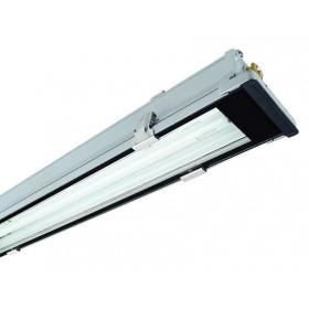 Φωτιστικό Οροφής Με Μαγνητικό Ballast Για Δύο Λαμπτήρες 36W IP65  ΕΒΙΒΑΚ
