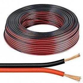Καλώδιο Ηχείων 2x2.50mm Μαύρο-Κόκκινο RAMCRO
