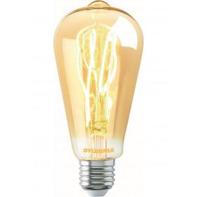 Λάμπα LED Αβοκάντο ST64 5.5W E27 2000k Dimmable Toledo Vintage SYLVANIA