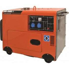 Ηλεκτρογεννήτρια Πετρελαίου Με Μίζα 6kW WS8500L-1 KRAFT
