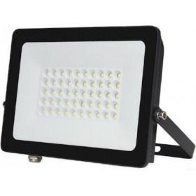 Πpoβoλέας LED 50W 6400k IP66 Μαύρος 60° 230V LUCAS