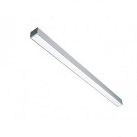 Φωτιστικό FOS 17000 LED 92W 3000K 2240mm Μαύρο KALFEX