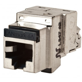 Jack Χαλκού RJ45 Cat.6A FTP Snap-In Screened N420.66A NEXANS